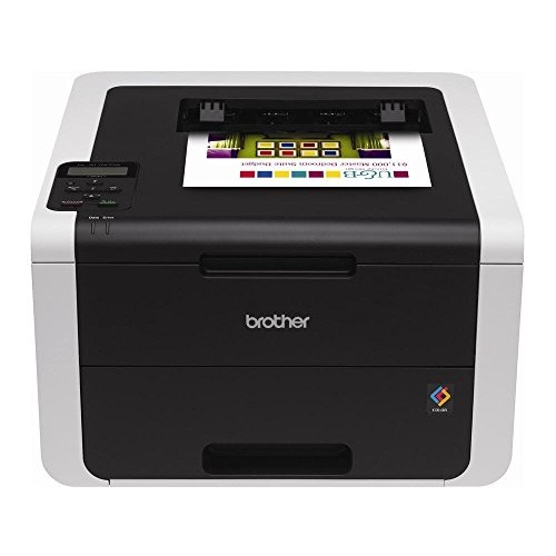 Brother HL-3170CDW Digital Color Printer with Wireless Networking and Duplex, Amazon Dash Replenishment Enabled [HL3170CDW]