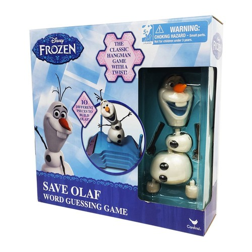 Disney Frozen Save Olaf Word Guessing Game