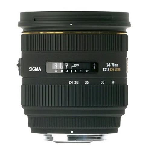 Sigma 24-70mm f/2.8 EX DG IF HSM Lens for Nikon SLR