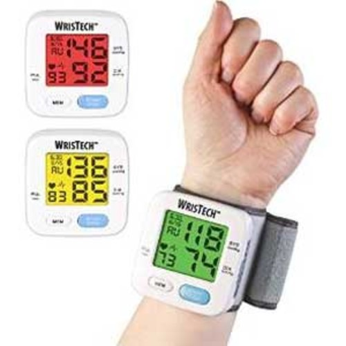 Blood Pressure Monitor Color Changing by Test
