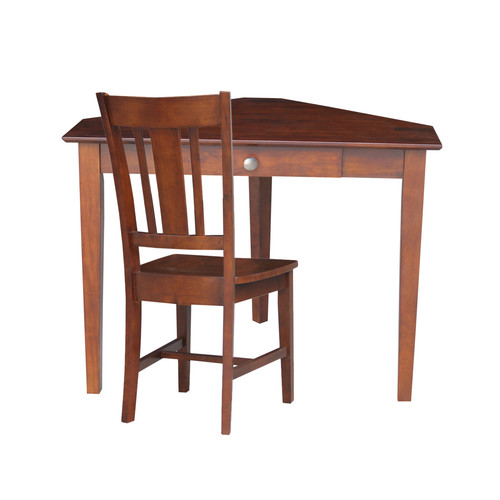 International Concepts Desk With Chair