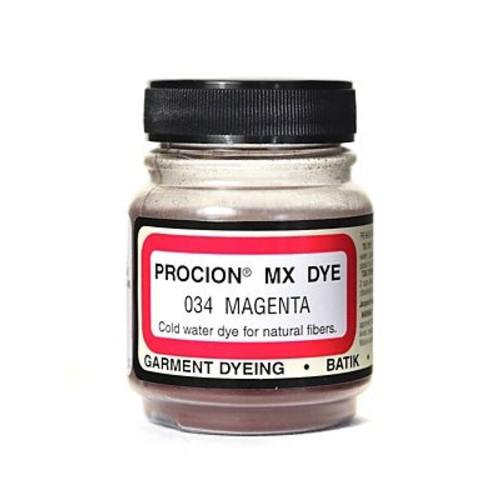 Jacquard Procion MX Fiber Reactive Dye magenta 034 2/3 oz. [Pack of 3]
