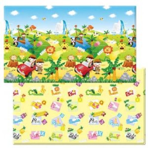 Dwinguler Safari 4 ft. 6 in. x 7 ft. 6 in. Play Mat