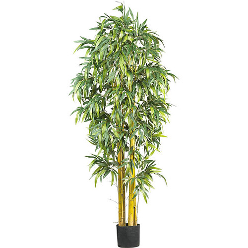 Nearly Natural 5190 6-Foot Biggy Style Bamboo Silk Tree