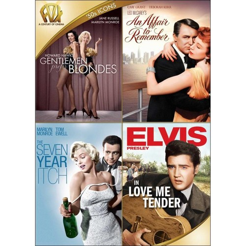 Gentlemen Prefer Blondes/An Affair to Remember/The Seven Year Itch/Love Me Tender [4 Discs] [DVD]