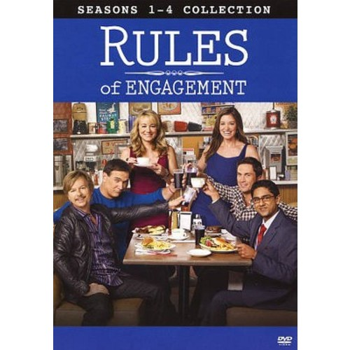 Rules Of Engagement:Seasons 1-4 (DVD)