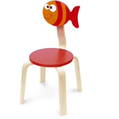 Scratch Deco: Chair Fish Maurice