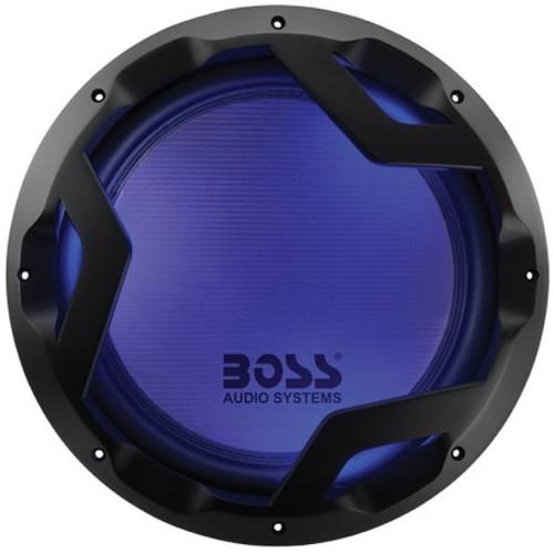 BOSS Audio PD12LED 1600 Watt, 12 Inch, Dual 4 Ohm Voice Coil Car Subwoofer [PD12LED]
