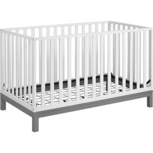 Cosco Leni Crib - Soft Gray/White