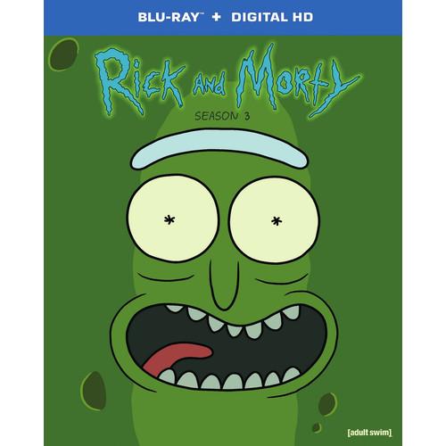 Rick and Morty: Season 3 [Blu-ray]
