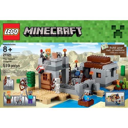 LEGO - Minecraft The Desert Outpost
