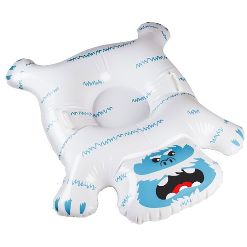 Big Mouth The Big Yeti Inflatable Snow Tube