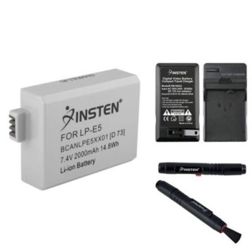 Insten LP-E5 Battery + Charger for Canon EOS REBEL XS+Pen Kit