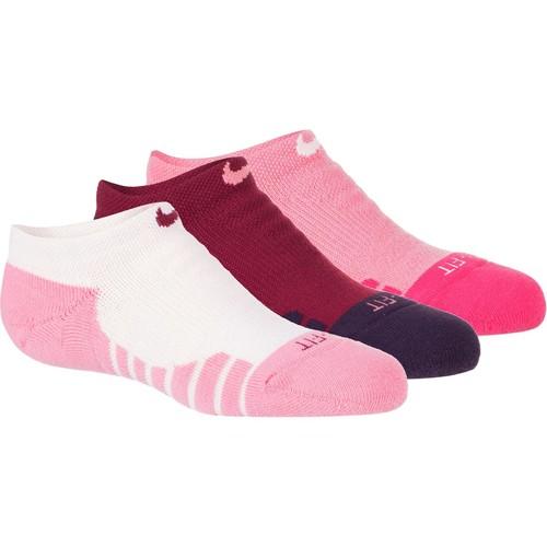 Nike Dry Cushion No-Show Tab Training Socks - 3-Pack - Women's