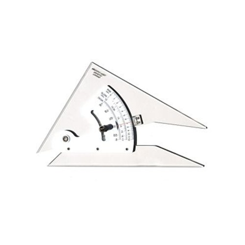 Pacific Arc Adjustable Acrylic Triangle 8 in.
