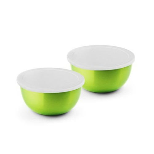 Bonita Micro Wonder 4 Piece Microwave Safe Stainless Steel Bowl Set