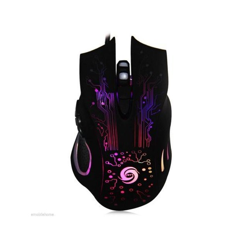 6 Buttons DPI Adjustable Optical USB Wired Gaming Mouse Mice