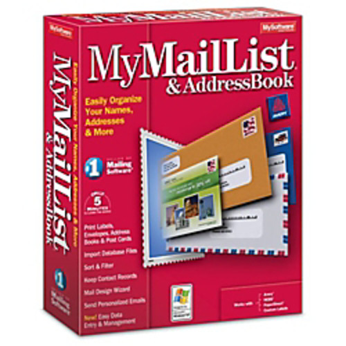 MyMailList And Address Book, Download Version