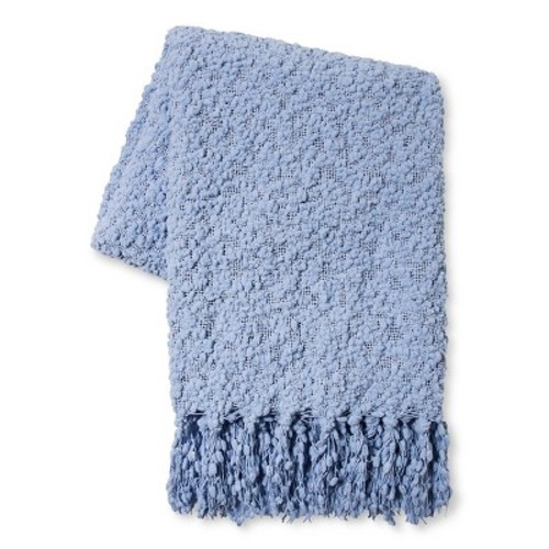 Popcorn Knit Throw Blanket (50