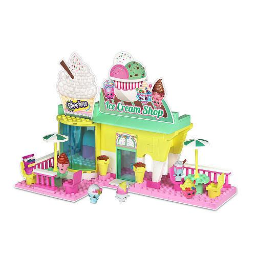 Shopkins Kinstructions Ice Cream Shop Playset
