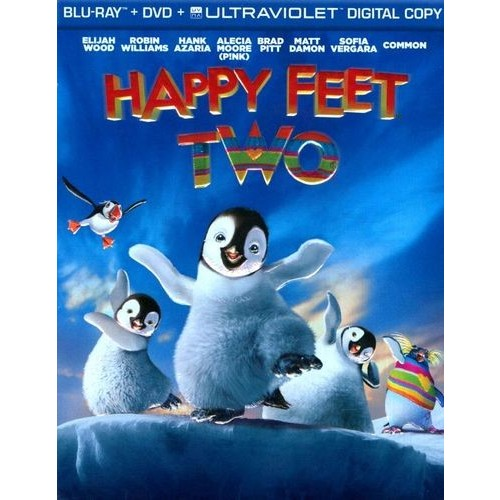 Happy Feet Two [3 Discs] [Includes Digital Copy] [UltraViolet] [Blu-ray/DVD] [Eng/Fre/Spa] [2011]