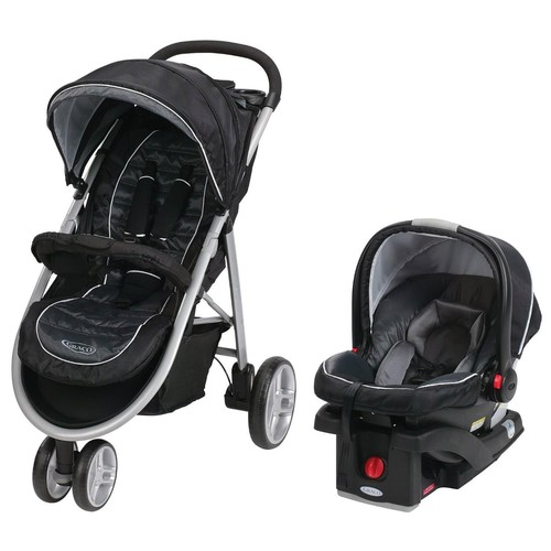 Graco Aire3 Click Connect Travel System Stroller - Gotham
