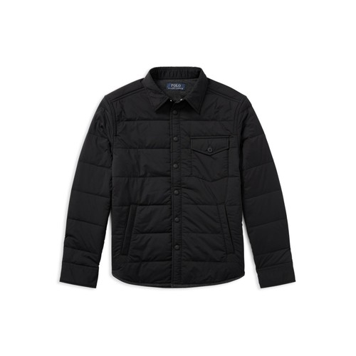 Boys' Quilted Workshirt Jacket - Big Kid
