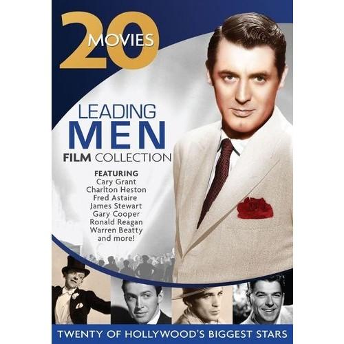 Leading Men Film Collection: 20 Movie Set [4 Discs] [DVD]
