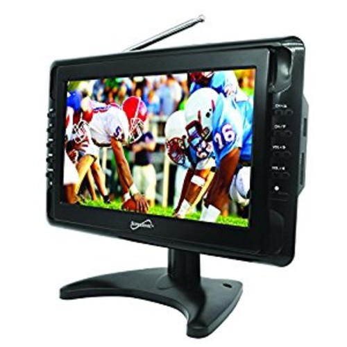 SuperSonic Portable LCD Digital AC/DC TV 10-Inch [10-inch]