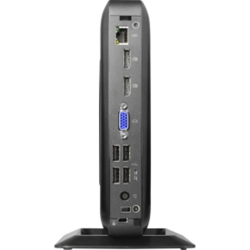 HP Inc. Flexible Thin Client t520 - Thin client - tower - 1 x GX-212JC 1.2 GHz - RAM 8 GB - SSD 64 GB - Radeon HD - GigE - WLAN: Bluetooth, 802.11a/b/g/n/ac - Win 10 IOT Enterprise 64-bit - monitor: none - keyboard: US - Smart Buy (V2V48UT#ABA)
