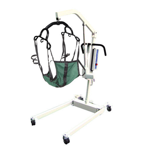 Drive Medical Bariatric Electric Patient Lift in White