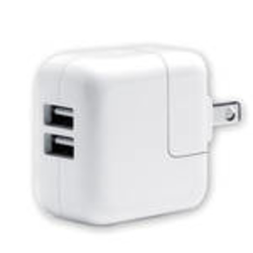 Dual USB Wall Charger (White)