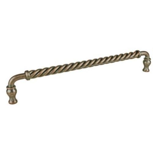Richelieu 12'' Center Bar Pull; Antique Copper