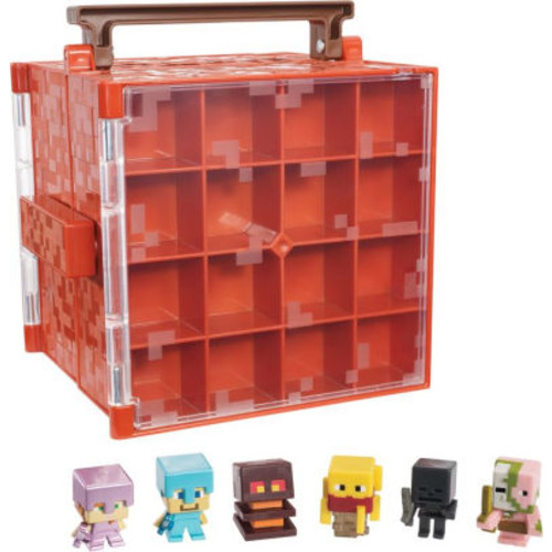 MINECRAFT NETHER COLL CASE FIG