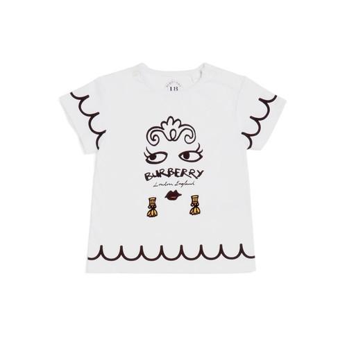 BURBERRY Girls' Graphic Tee - Baby