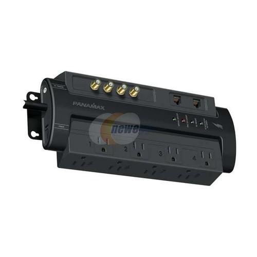 PANAMAX M8-AV-PRO 6 - 9 Feet 8 Outlets 1001 - 2000 joule Surge Suppressors