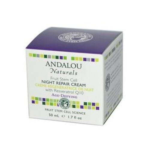Andalou Naturals Resveratrol Q10 Night Repair Cream - 1.7 Oz