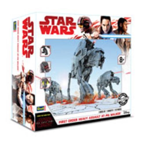 Star Wars: The Last Jedi First Order Heavy Assault AT-M6 Walker Model Kit