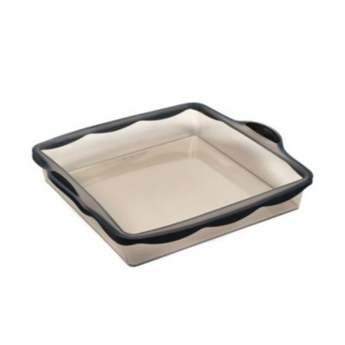 Pure Square 8-Inch Silicone Cook Pan