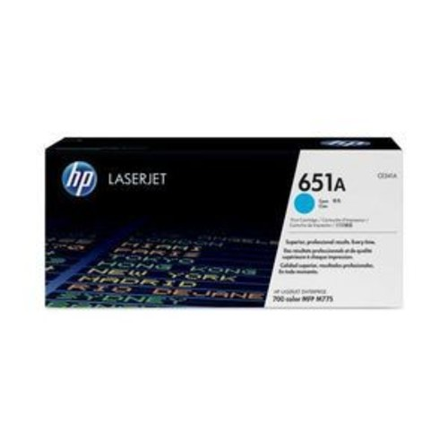 HP 651A - Cyan - original - LaserJet - toner cartridge
