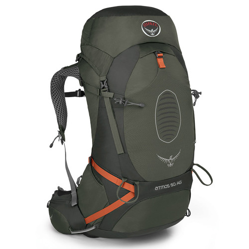 OSPREY Atmos AG 50 Backpack, Graphite Grey