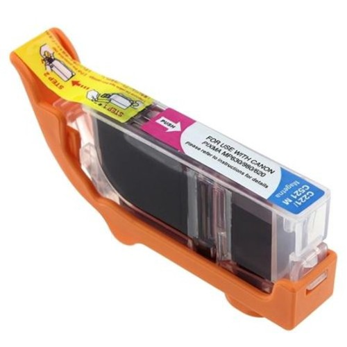 Insten Compatible For Canon CLI-221M Ink Cartridge, Magenta