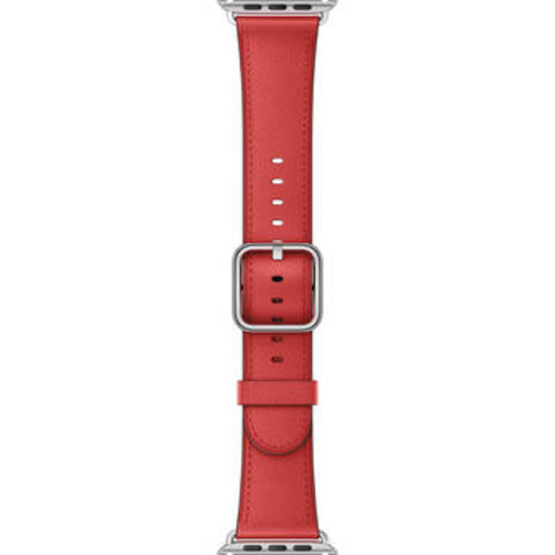 Watch Classic Buckle Band (42mm, Red)