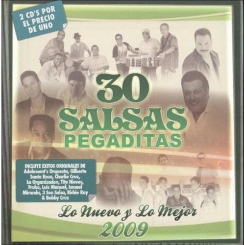 30 Salsas Pegaditas: Lo Nuevo y lo Mejor 2009 [CD]