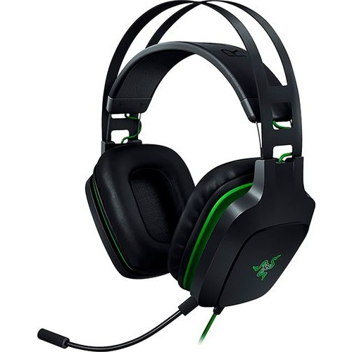 Razer - Electra V2 Wired Virtual 7.1 Surround Sound Gaming Headset for Windows, Mac and PlayStation 4 - Black