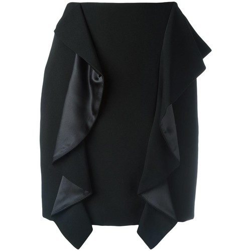 GIVENCHY Draped Panel Mini Skirt