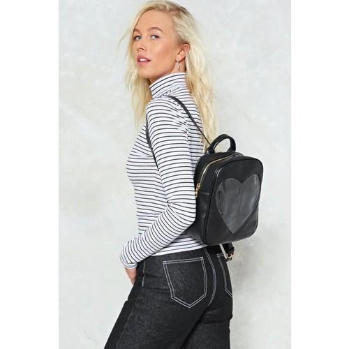 WANT Un-Break My Heart Vegan Leather Backpack