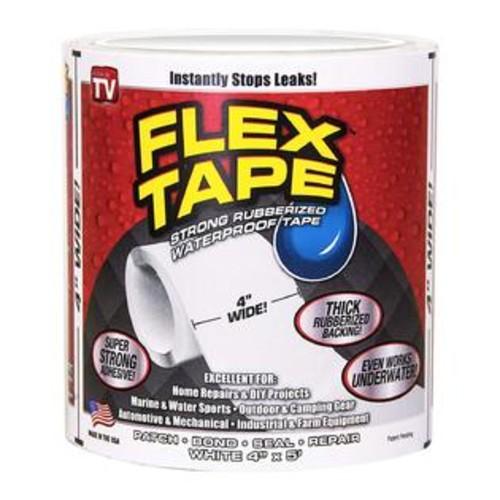 Flex Seal Flex Tape White 4 x 5'