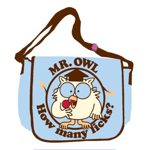 Silver Buffalo TR8001 Tootsie Roll Mr. Owl 15-Inch by 12-Inch Messenger Bag, Multi-Color