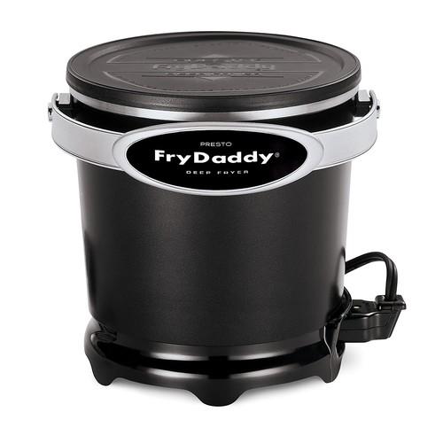 Presto 05420 FryDaddy Electric Deep Fryer [Black, One Size]
